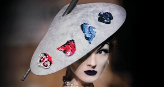 Stephen Jones for Christian Dior Hat: Promotional Image for PEM  Hats: An Anthology; copyright Christopher Moore/Catwalking