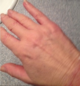 Almay SS hand
