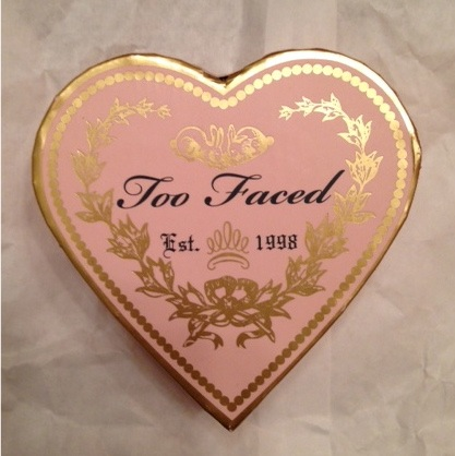 Too Faced Sweethearts Perfect Flush Blush, a heart-shaped blush neversaydiebeauty.com @redAllison