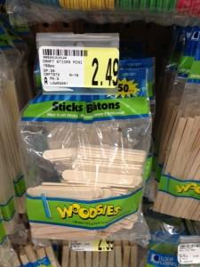 woodensticks