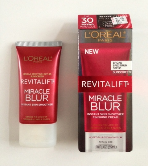 L'Oreal Miracle Blur, a flaw blurring makeup product neversaydiebeauty.com