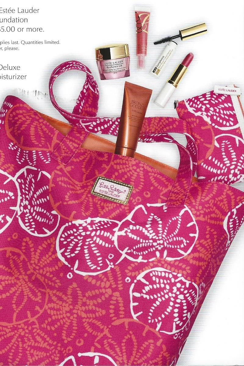 Estee Lauder Lilly Pulitzer Summer Gift at Macy's  Never Say Die
