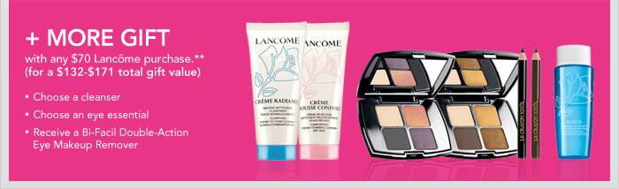Lancome gift with purchase Macy's
