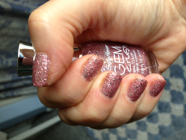 Sally Hansen Gem Crush Glitter Nail Polish Razzle-Dazzler 06 & How ...