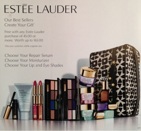 Estee Lauder Bloomingdales gift with purchase