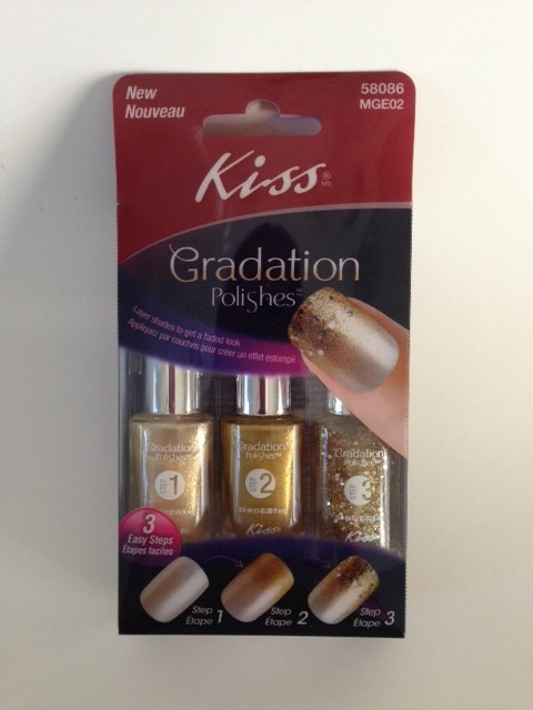 Kiss Gradation Polishes Exposure/gold