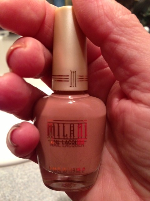 Milani nail polish Natural Touch