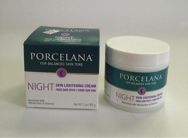 Porcelana Night Skin Lightening Cream