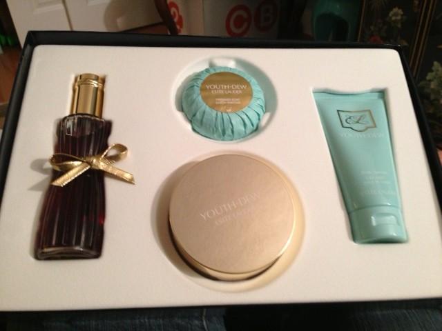 Youth Dew Fragrance box