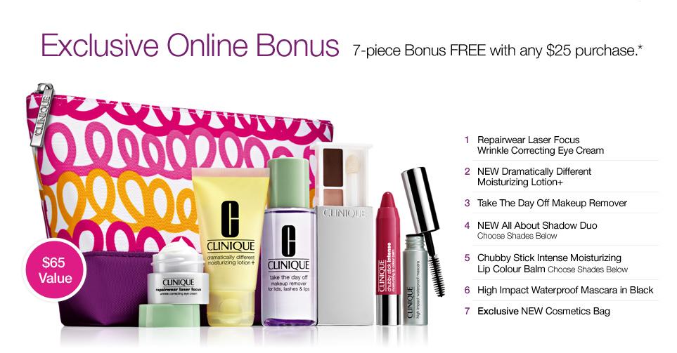 Clinique Online Bonus