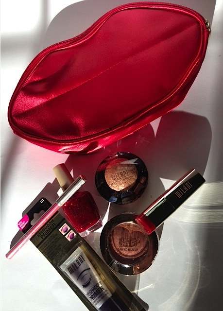 Milani red makeup collection