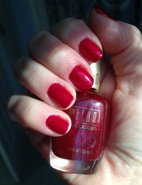 Ruby Jewels mani