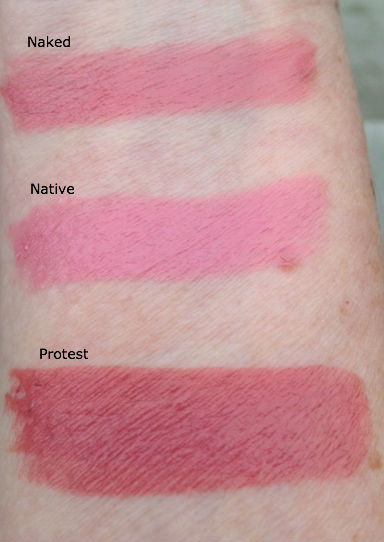 UD Revolution nude swatches
