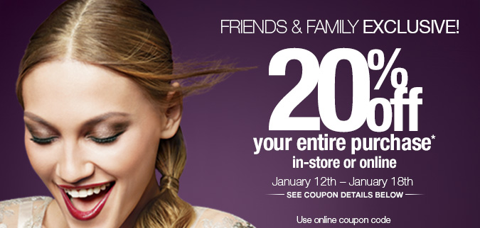 Ulta Friends/Family Sale