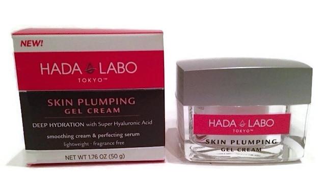 Hada Labo Tokyo Skin Plumping Gel Cream, gel moisturizers, moisturizer, Japanese skincare