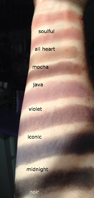 IT Cosmetics Naturally Pretty Matte Shadow swatches