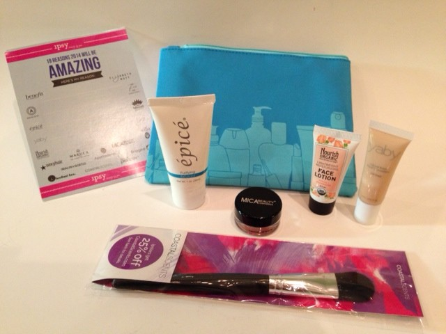 January 2014 ipsy Glam Bag