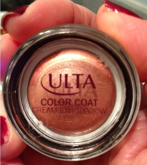 Ulta Color Coat Cream Shadow, rose gold