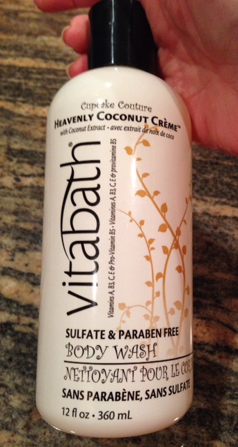Vitabath Heavenly Coconut Creme Body Wash