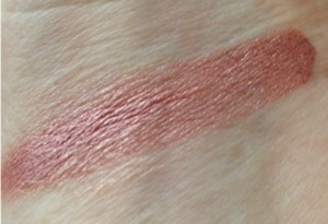 Ulta Color Coat Cream Shadow, rose gold swatch