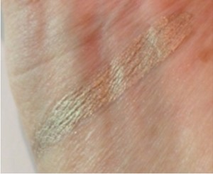 Ulta Color Coat Cream Shadow, Shimmering Topaz swatch