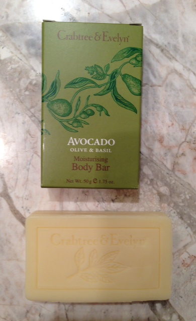 Crabtree & Evelyn Avocado Olive & Basil Body Bar