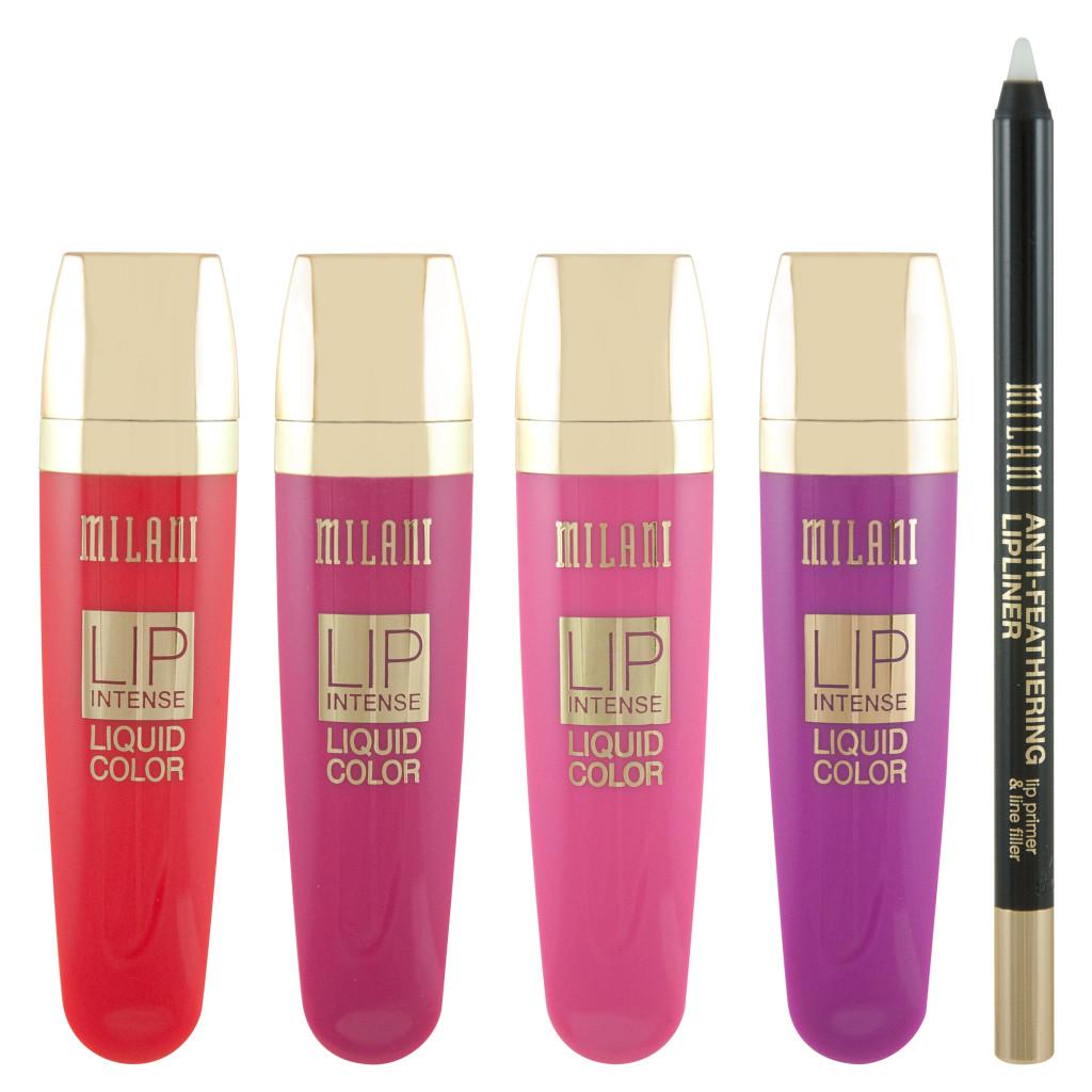 Milani Lip Intense Liquid Color lipsticks