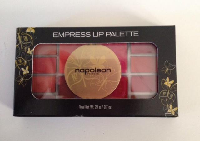 Napoleon Perdis Empress Lip Palette