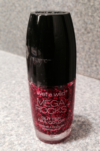 "Wet N Wild Glitter Nail Color, ""Always In The Pit"""