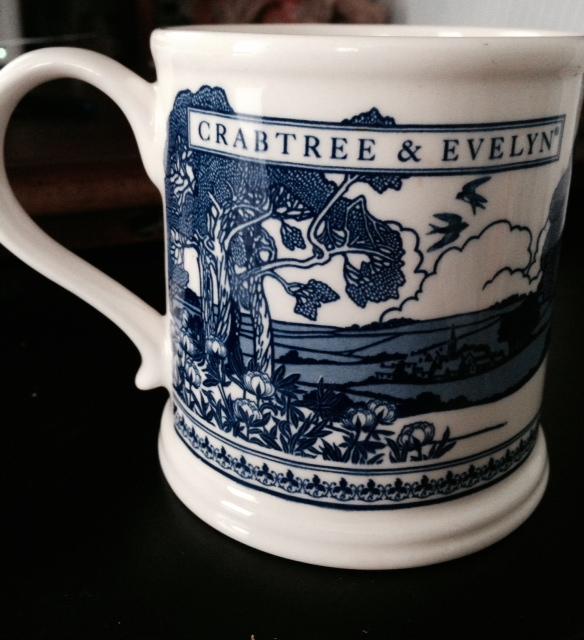 Crabtree & Evelyn Anniversary Mug 2003