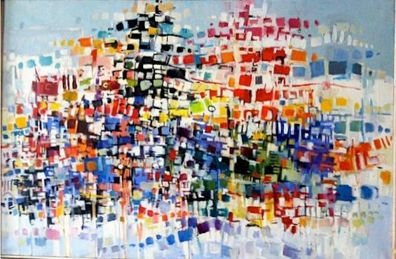 Albert Alcalay painting