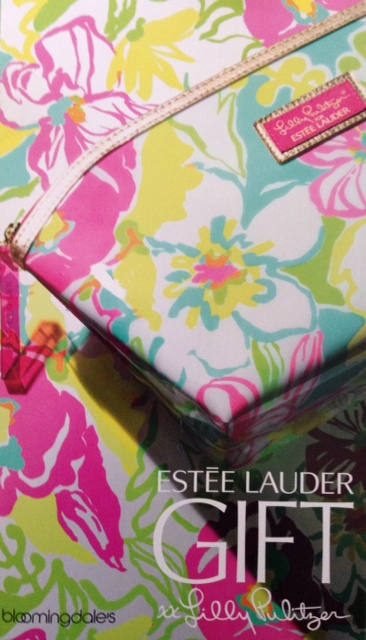 Estee Lauder Lilly Pulitzer Gift with Purchase, Bloomingdale's April 2014