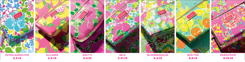 Estee Lauder Lilly Pulitzer Gift with Purchase, Spring 2014
