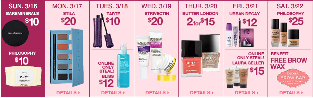 Ulta 21 Days of Beauty, Week 1 Spring 2014