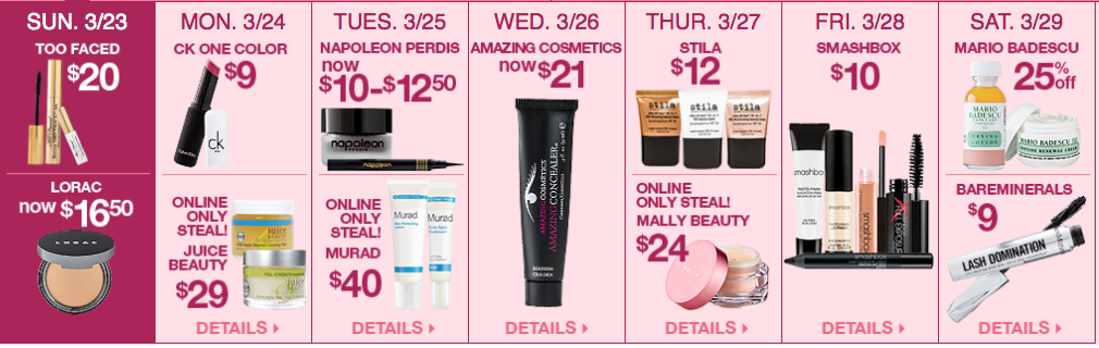 Ulta 21 Days of Beauty, Week 2 Spring 2014