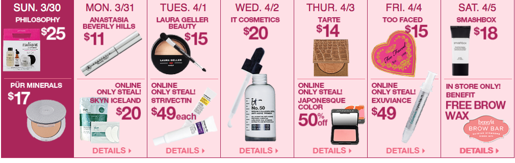 Ulta 21 Days of Beauty, Week 3 Spring 2014