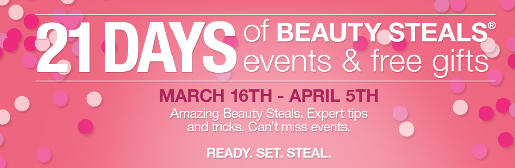 Ulta 21 Days of Beauty, Spring 2014