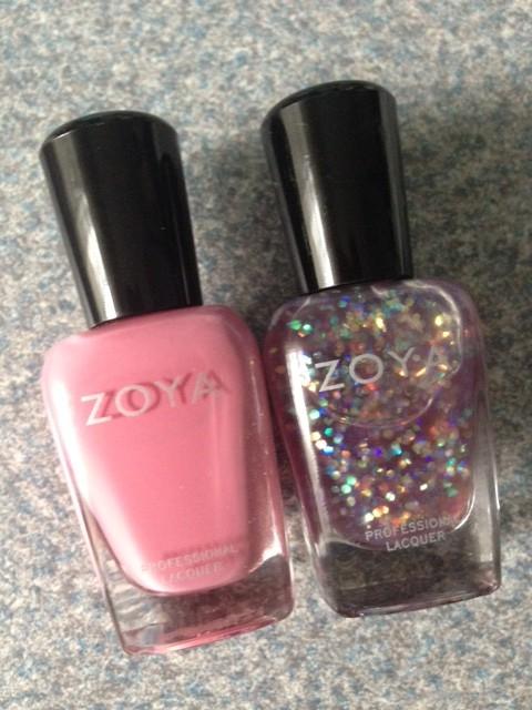 Zoya Nail Polish, Flora & Monet