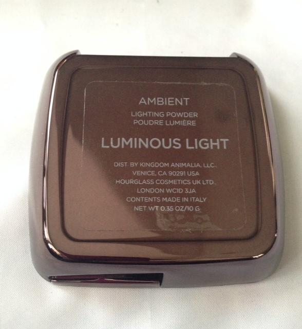 hourglass ambient lighting powder luminous light never. Black Bedroom Furniture Sets. Home Design Ideas