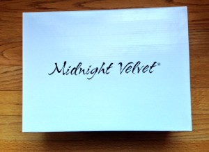Midnight Velvet shoebox