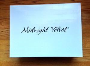Midnight Velvet shoebox