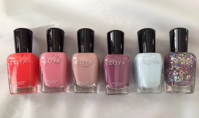 Zoya Nail Polish Flora And Monet