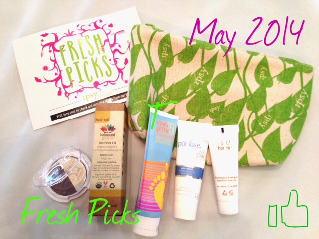 ipsy Fresh Picks Glam Bag