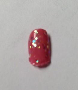 Zoya Flora & Monet nail