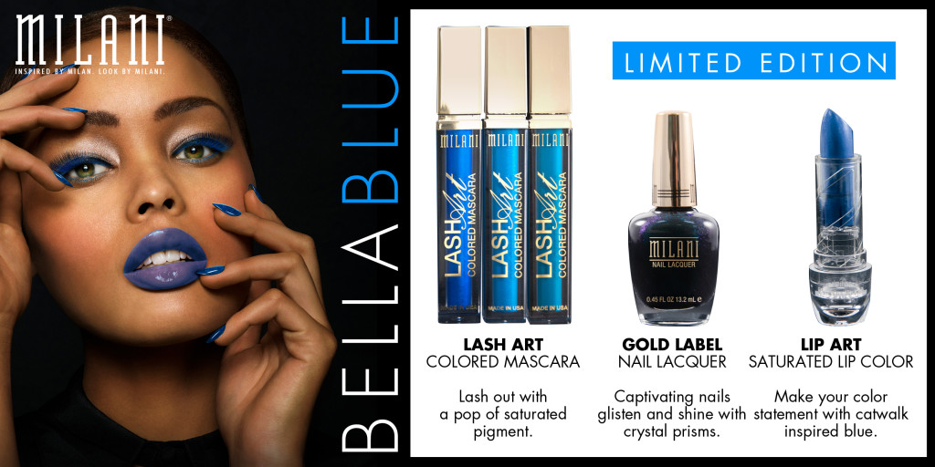 Milani Limited Edition Bella Blue Collection