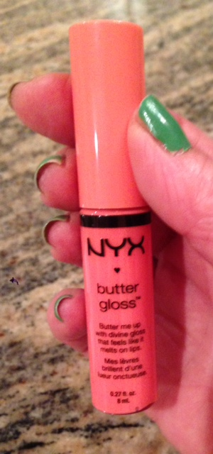 NYX Butter Gloss Lipgloss in Apple Strudel