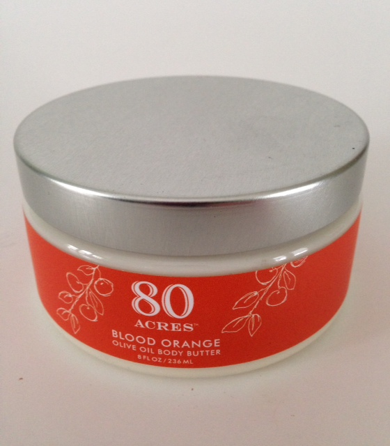 body butter blood orange