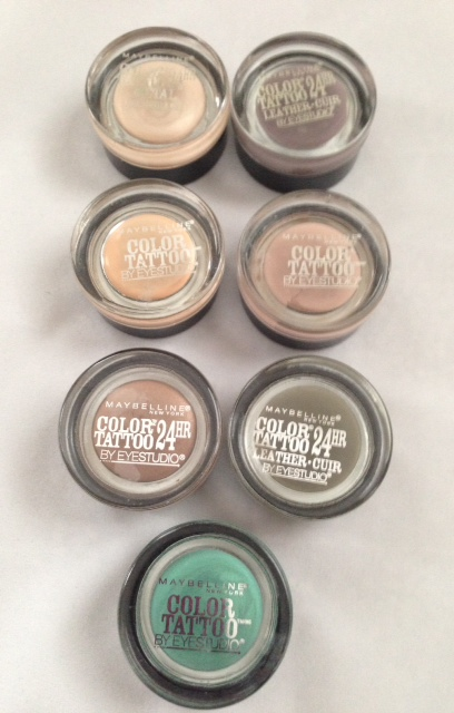 Maybelline Cream Eyeshadow