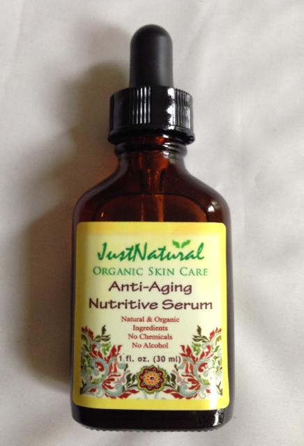 Just Natural Anti-aging Nutritive Serum, vitamin C