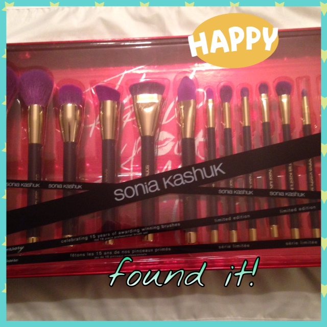 Sonia Kashuk 15th Anniversary Brush Set